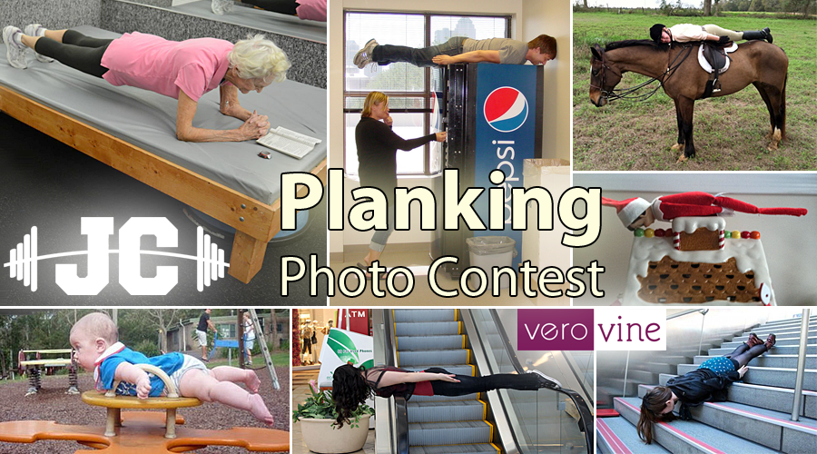 Planking Photo Contest