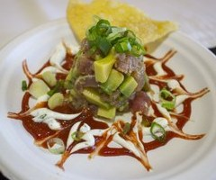 Citrus and Ponzu Marinated Ahi Tuna