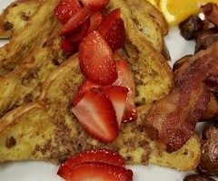 Pecan Encrusted French Toast