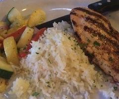 Grilled Chicken & Veg