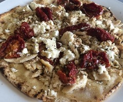 Sundried Tomato, Chicken Flat Bread