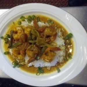 curry shrimp by chef charles
