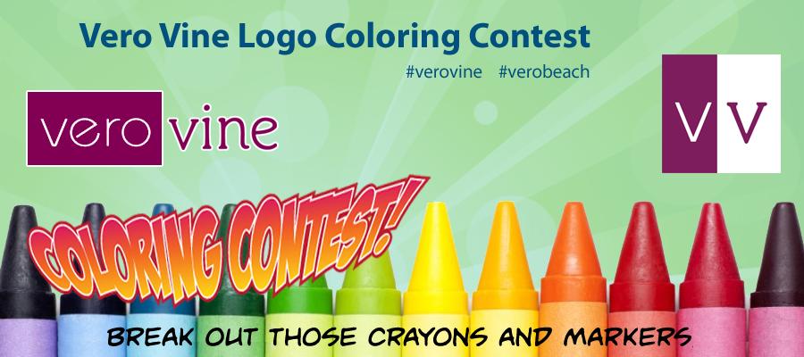 Vero Vine Logo Coloring Contest