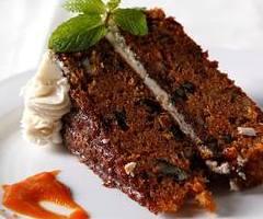 Homemade Carrot Cake with Bailey's Irish Cream